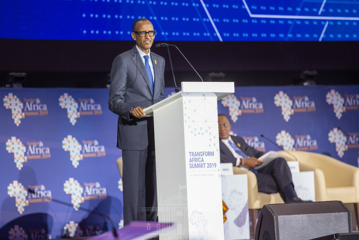 The President underscored the importance of technology as a fundamental element of Africa's economic journey to prosperity, noting that he looked forward to the rollout of a Pan-African digital economy strategy #TAS2019 | @PaulKagame