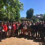 Délégation @Place_Beauvau habitants-élus #Allonnes porteurs de 1608 lettres ouvertes à @CCastaner pour un commissariat de plein exercice @villeetbanlieue