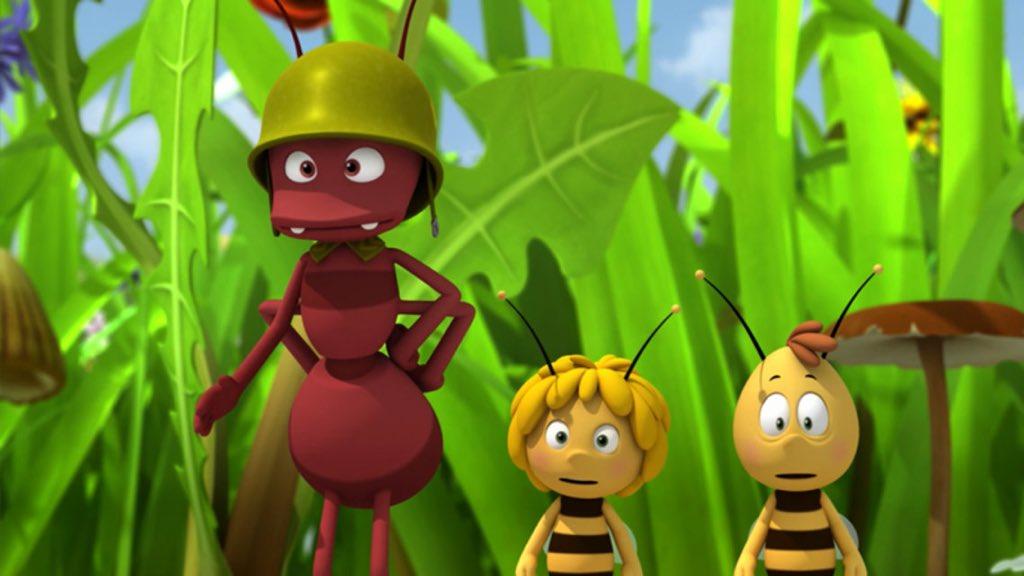 фотографии пчелки майи