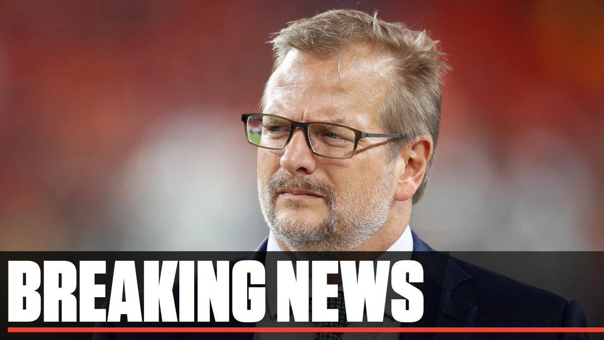 Breaking: The Jets have fired GM Mike Maccagnan and named head coach Adam Gase as acting GM. The team also fired VP of player personnel Brian Heimerdinger, sources tell @AdamSchefter and @JeffDarlington.<br>http://pic.twitter.com/9u4T3wv9mZ
