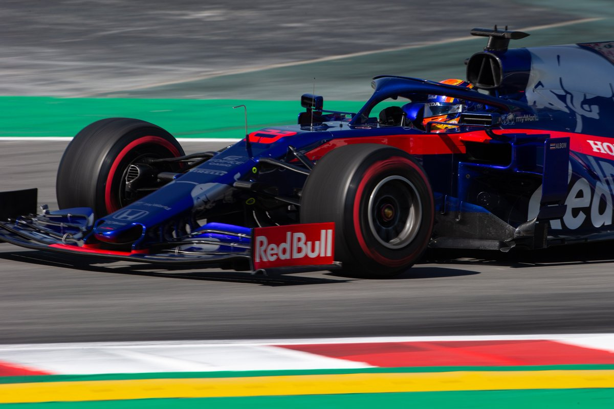That's the end of the in-season test at Barcelona!   @alex_albon finishes the day with 110 laps and a best time of 1:17.079 #F1Testing