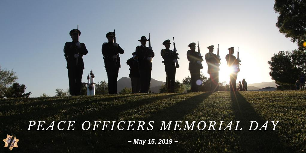 Today on #PeaceOfficersMemorialDay we pause to remember and honor our nation's heroes who have fallen while protecting and serving their communities. We salute all the brave men and women who have made sacrifices for our safety! #policeweek2019<br>http://pic.twitter.com/daPIqmXK7J