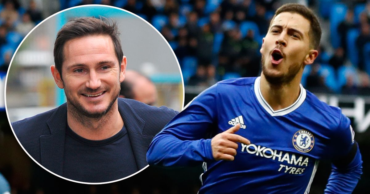 Loving today's rumours...Lampard replacing Sarri as Chelsea manager this summer & Hazard staying to play Frankieball what a time to be alive #cfc