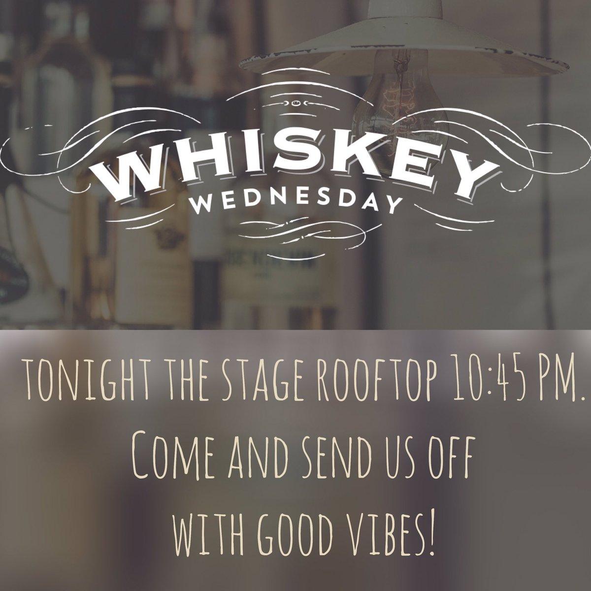 Come out tonight The Stage Rooftop! #whiskeywednesday #tour #alanjackson #alanjacksontour #downtown #nashvillepic.twitter.com/mHeGr03031
