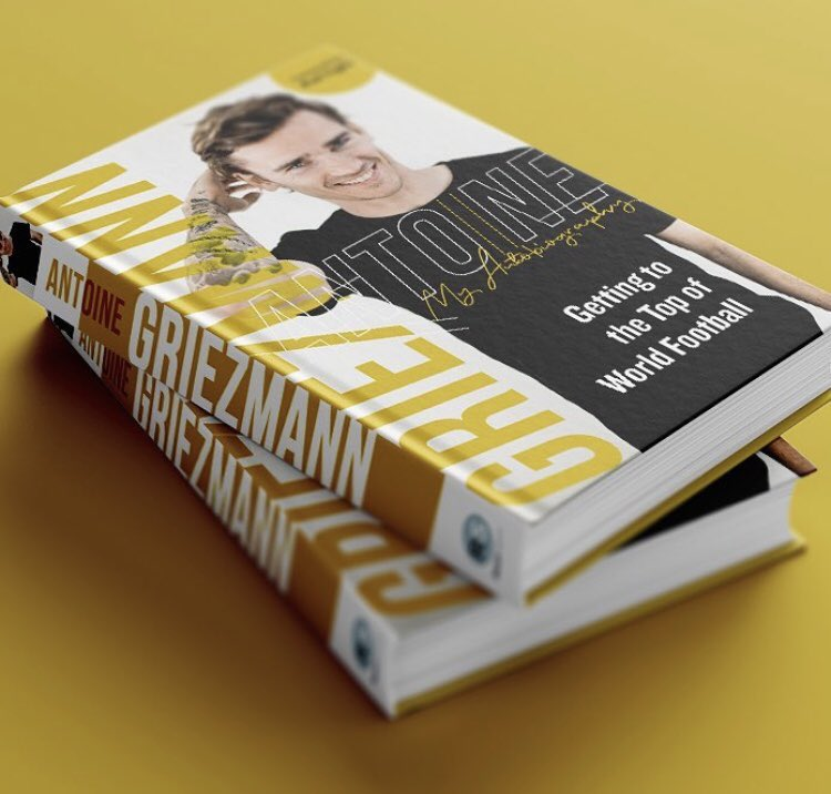 Antoine Griezmann is one of the greatest footballers in the world. He has enjoyed a sensational rise to the top.   @AntoGriezmann Getting To The Top of World Football is on sale now in paperback   #AntoineGriezmann #Griezmann #newbook    https://t.co/UF76vaZzSu https://t.co/F8poN5eK9y