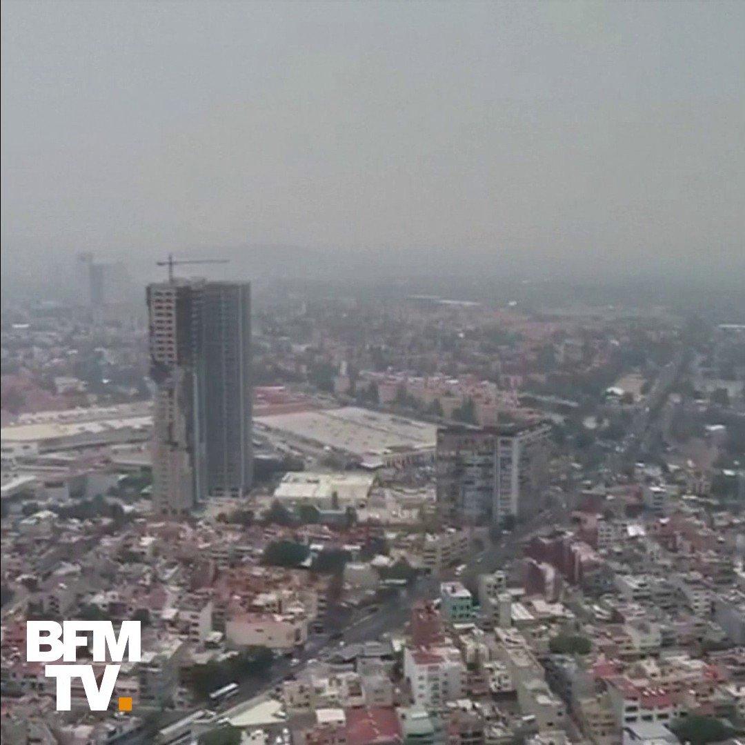 Depuis quatre jours, la ville de Mexico est noyée sous un nuage de pollution