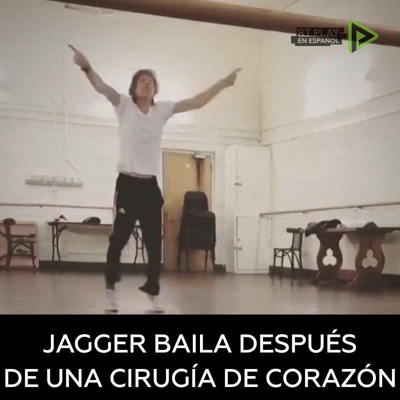 RT en Español's photo on Mick Jagger