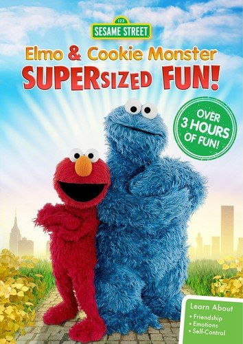 "Supersize your #NationalChocolateChipDay celebrations by watching ""Elmo and Cookie Monster Supersized Fun"" with someone that you love!  https:// amzn.to/2Q1TKaL     <br>http://pic.twitter.com/0Y93I3P8I6"