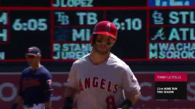 MLB Stats's photo on Tommy La Stella