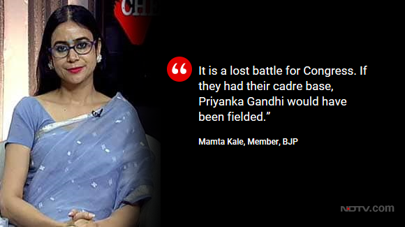 Priyanka Gandhi Vadra's Congress' revival: A reality checkBJP's Mamta Kale on @OnReality_CheckWatch full show here: https://www.ndtv.com/video/shows/reality-check/priyanka-gandhi-s-congress-revival-a-reality-check-515474 …