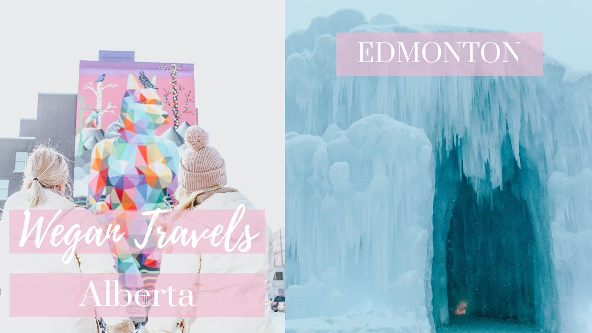 [NEW VIDEO] ICE CASTLE?! | Wegan Travels Alberta, Canada| VLOG youtu.be/Cd91NORDpng Watch our FINAl vlog in Alberta, Canada! 🇨🇦 How amazing is the @icecastles_ & six storey mural by @OKUDART?! @ExploreEdmonton @TravelAlberta #exploreedmonton #explorealberta #ad