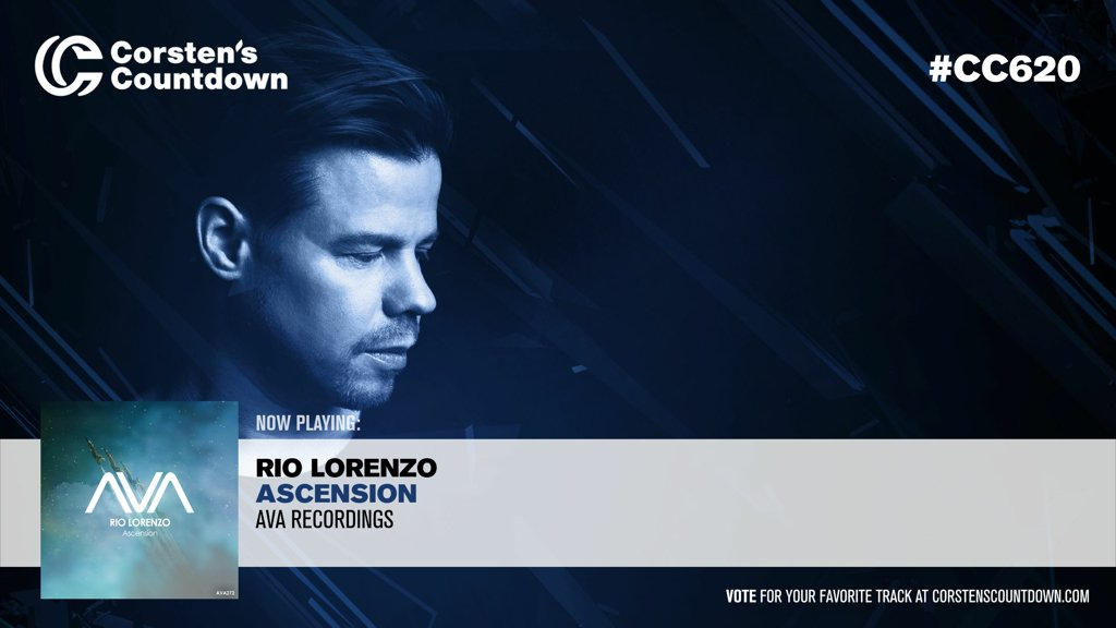 "03. Now playing; ""Ascension"", which is a new production from @RioLorenzoMusic on @AVARecordings! #CC620 https://www.youtube.com/watch?v=kXSKyrm5adc&t=835 …"