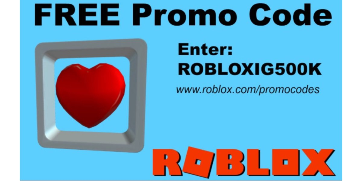 Lily On Twitter New Promo Code Robloxig500k Redeem Here Https