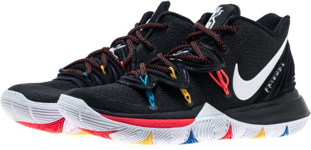 21d722c5a0 kyrie 5 friends mens basketball shoes this friends edition of the nike  kyrie 5 features a