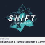 Image for the Tweet beginning: Housing is a Human Right,