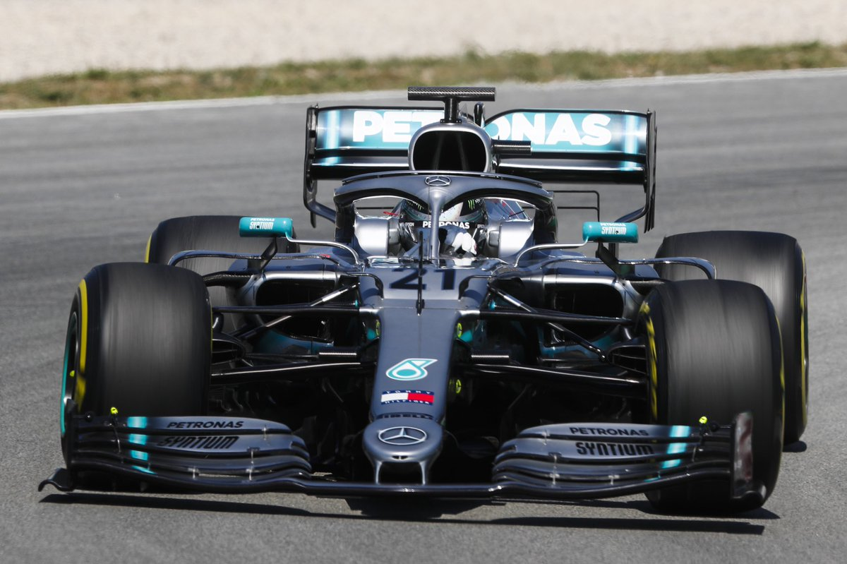 Ending #F1Testing on top! 💪 Nikita hits 128 laps on 'dream' first day in W10 👉 http://mb4.me/w8AKCtd7