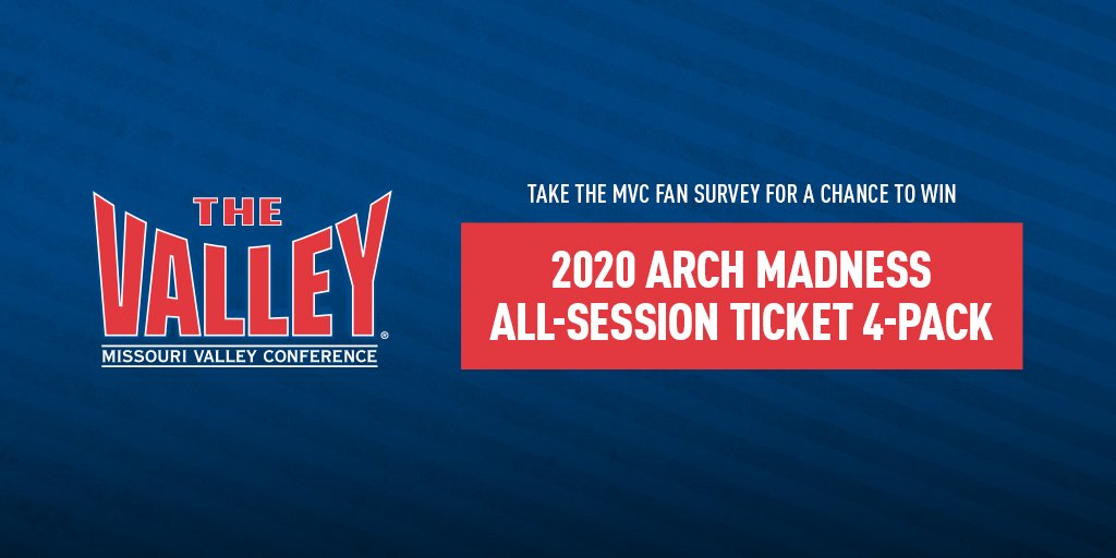 Hey Fans! Take this survey for your chance to win a 4 pack of 2020 Arch Madness All Session Tickets! Your feedback will help us offer the best-possible fan experiences!   https://bit.ly/2DM4Awv
