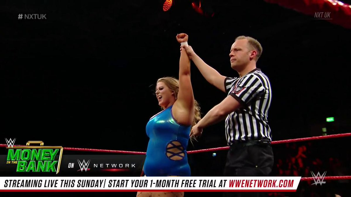 .@viperpiperniven's performance can be summed up in one word: IMPRESSIVE! #NXTUK