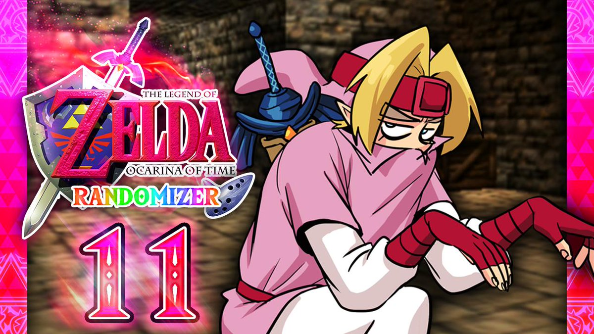 OoT Randomizer Part 11! Check out the Rose Warrior sneaking into the