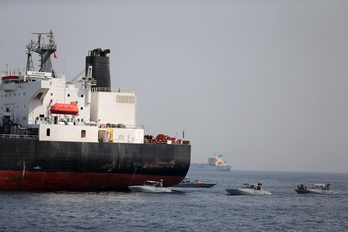 U.S. believes Iran encouraged tanker attacks - sources https://reut.rs/2HtfubG
