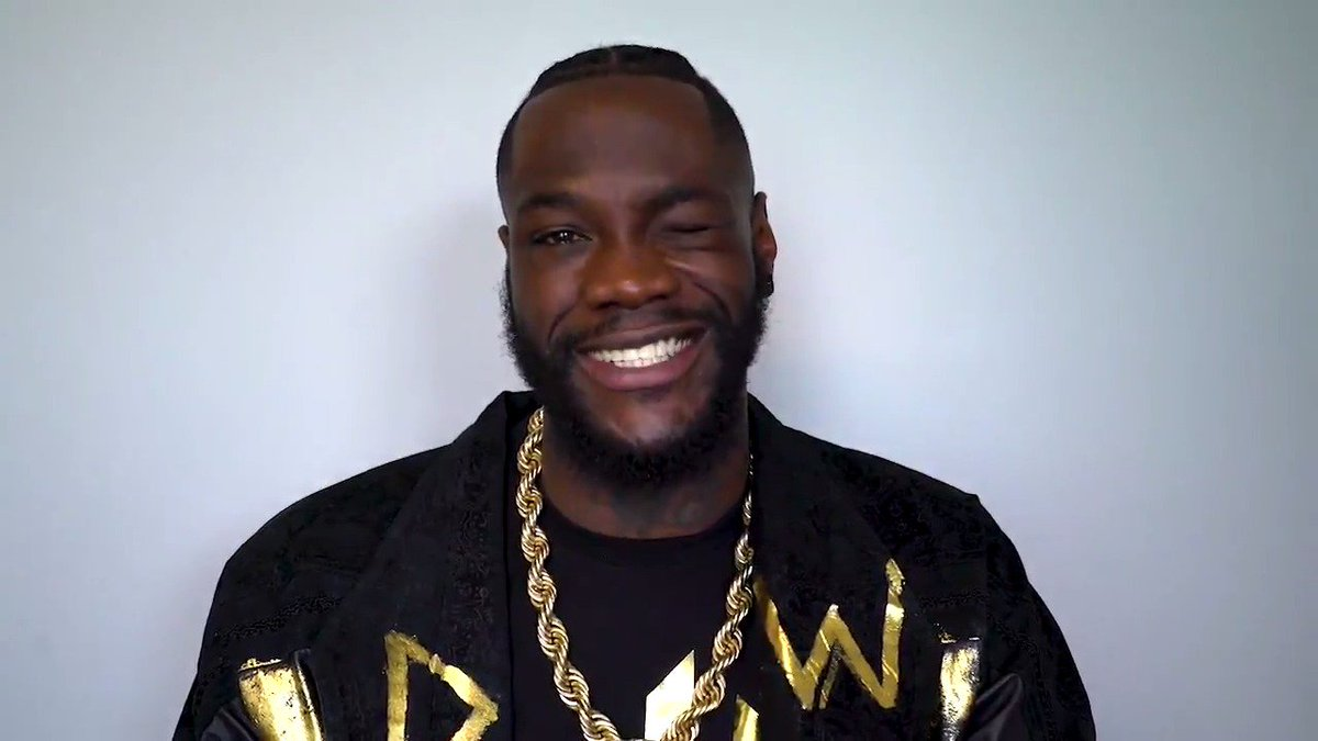 The @BronzeBomber is here to help you get through this Wednesday.