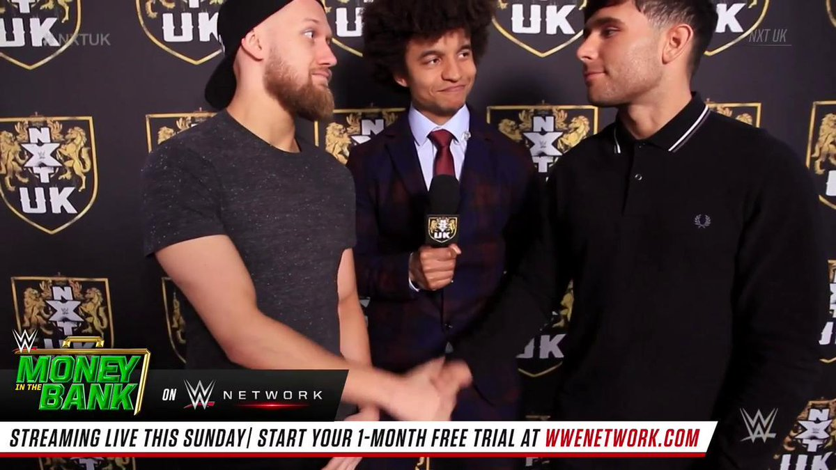 MAY THE BEST MAN WIN.@MandrewsJunior & @NoamDar look forward to a second chance at a match against one another.