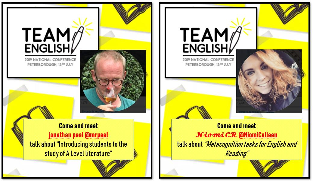 Team English National Conference 2019 on Twitter: