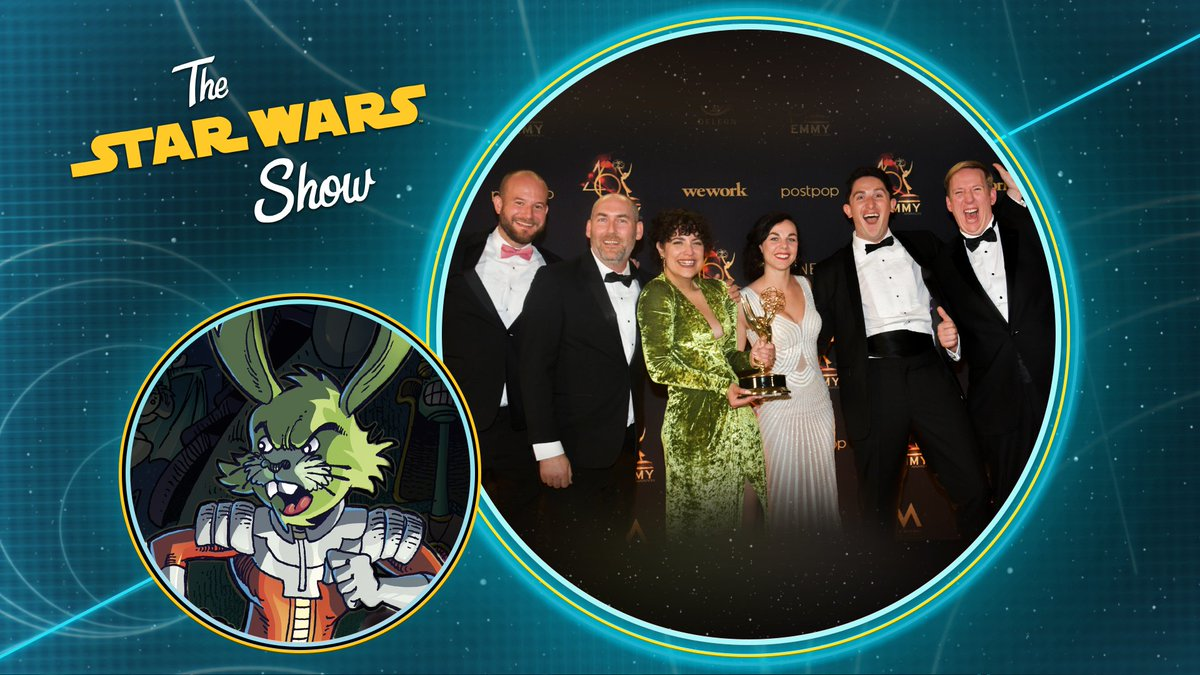 This week on The #StarWarsShow: we celebrate our Emmy win and talk upcoming Star Wars release dates for films and Vader Immortal. Plus, we sit down with author @cavanscott to talk @IDWPublishing's Star Wars Adventures and Jaxxon. Presented by GEICO.