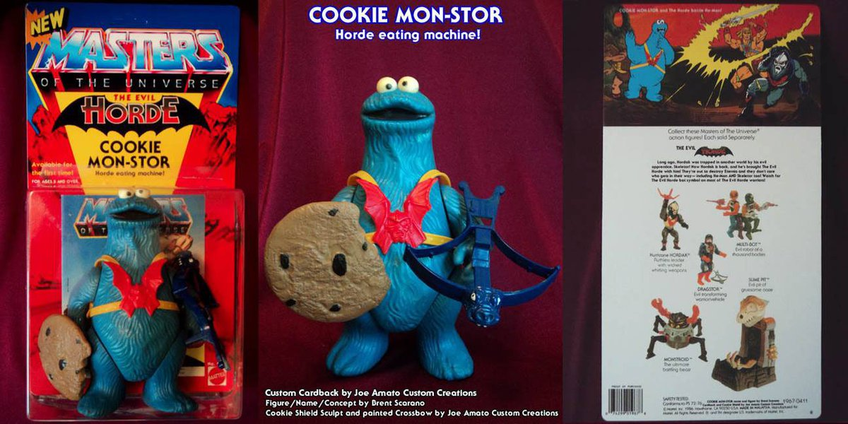 Happy National Chocolate Chip Cookie Day from the Cookie Mon-Stor! :-) #mastersoftheuniverse #heman #motu #cookiemonster #NationalChocolateChipCookieDay <br>http://pic.twitter.com/Ips62gc7oB
