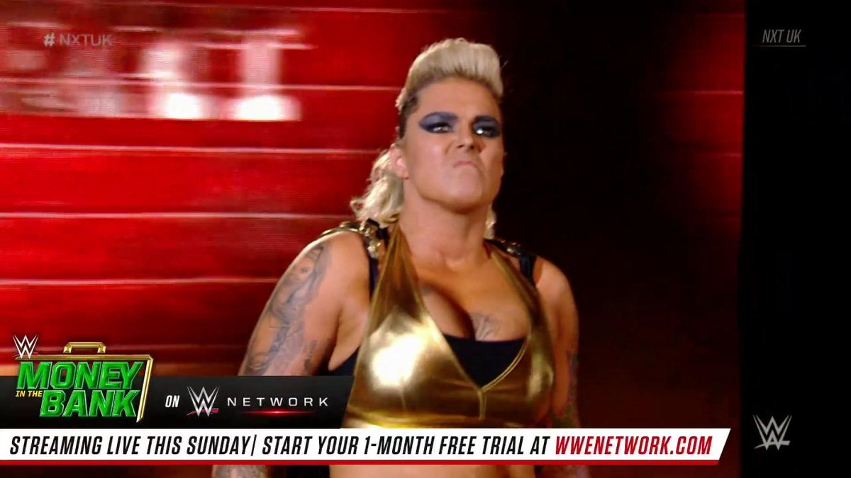 Now THAT'S how you make a debut! @Jazzy_Gabertshows off her power alongside @JinnyCoutureon #NXTUK!