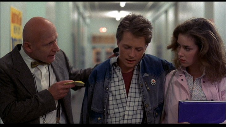 """Do you want to be a slacker for the rest of your life?""#bttf #DíaDelMaestro"