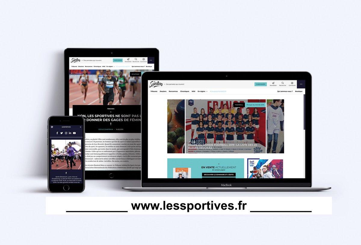 Bien plus qu'un mag #LesSportives devient LA plateforme de toutes les sportives et de tous ceux pour qui le sport au feminin compte ! ‼️lessportives.fr ‼️
