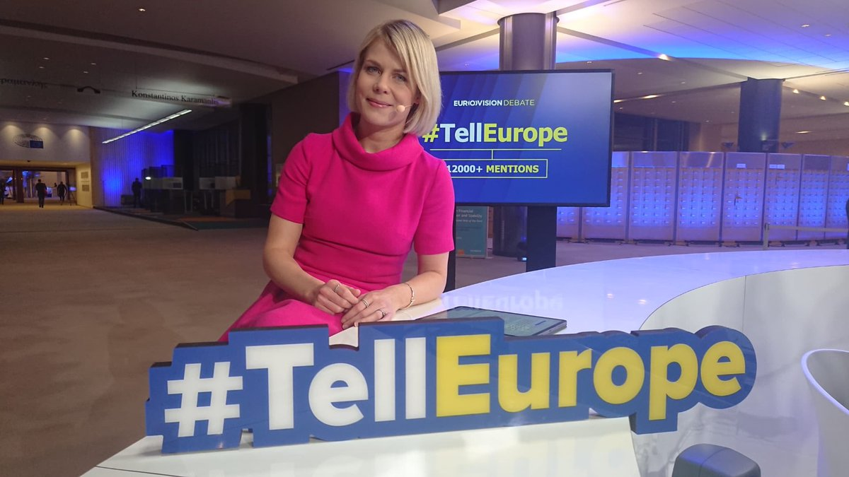 The show is on and the online community is active -super! Keep commenting and asking questions! Suomalaiset huom: kuulen hyvin mielelläni teistä! #TellEurope #euvaalit2019