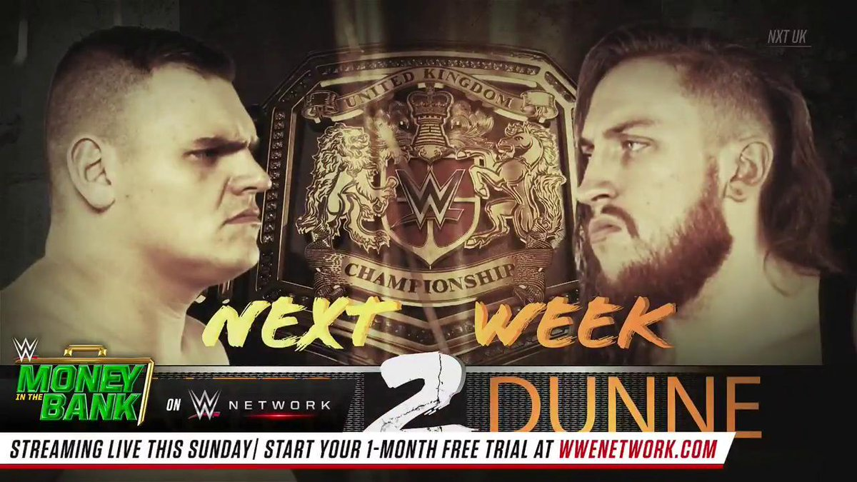 You have exactly 1️⃣ week to prepare.@WalterAUT/@PeteDunneYxB 2️⃣ takes place NEXT WEEK on #NXTUK!
