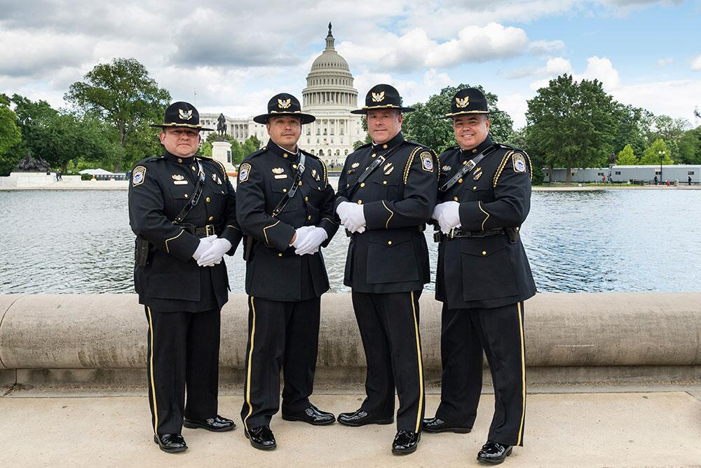 In 1962, President John F. Kennedy signed a proclamation which designated May 15 as #PeaceOfficersMemorialDay. Currently, tens of thousands of law enforcement officers from around the world converge on Washington, DC to participate in a number of planned events. <br>http://pic.twitter.com/HAq64PYC8a