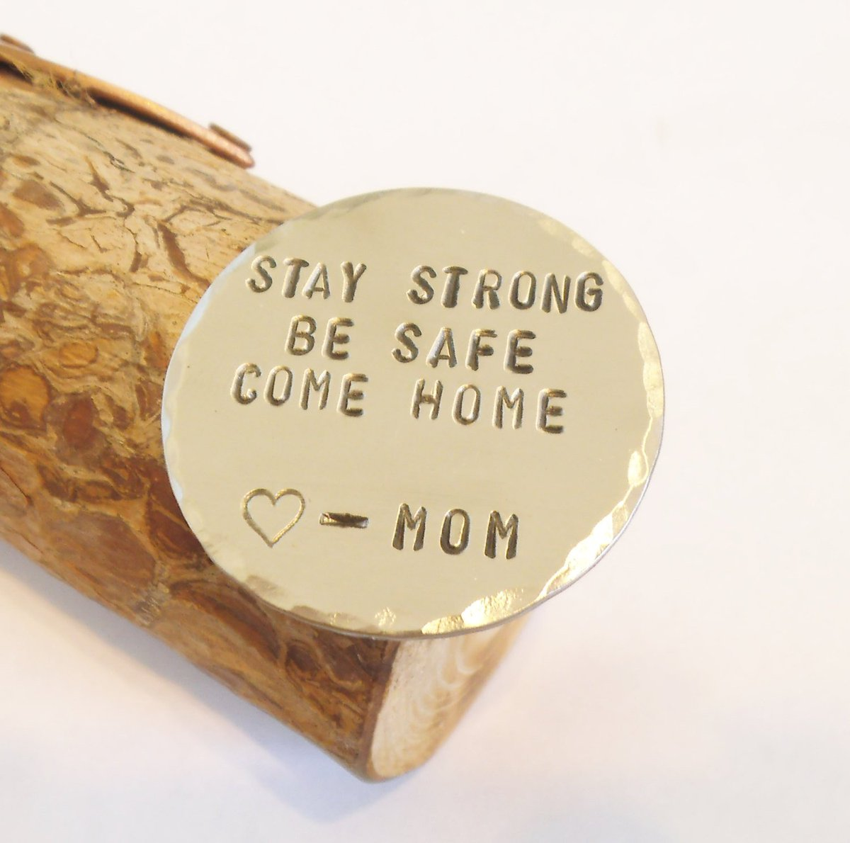 Stay Strong Be Safe Come Home - Personalized Wallet Insert http://tuppu.net/4bd4cf43 #Shopify #CandTCustomLures #G1