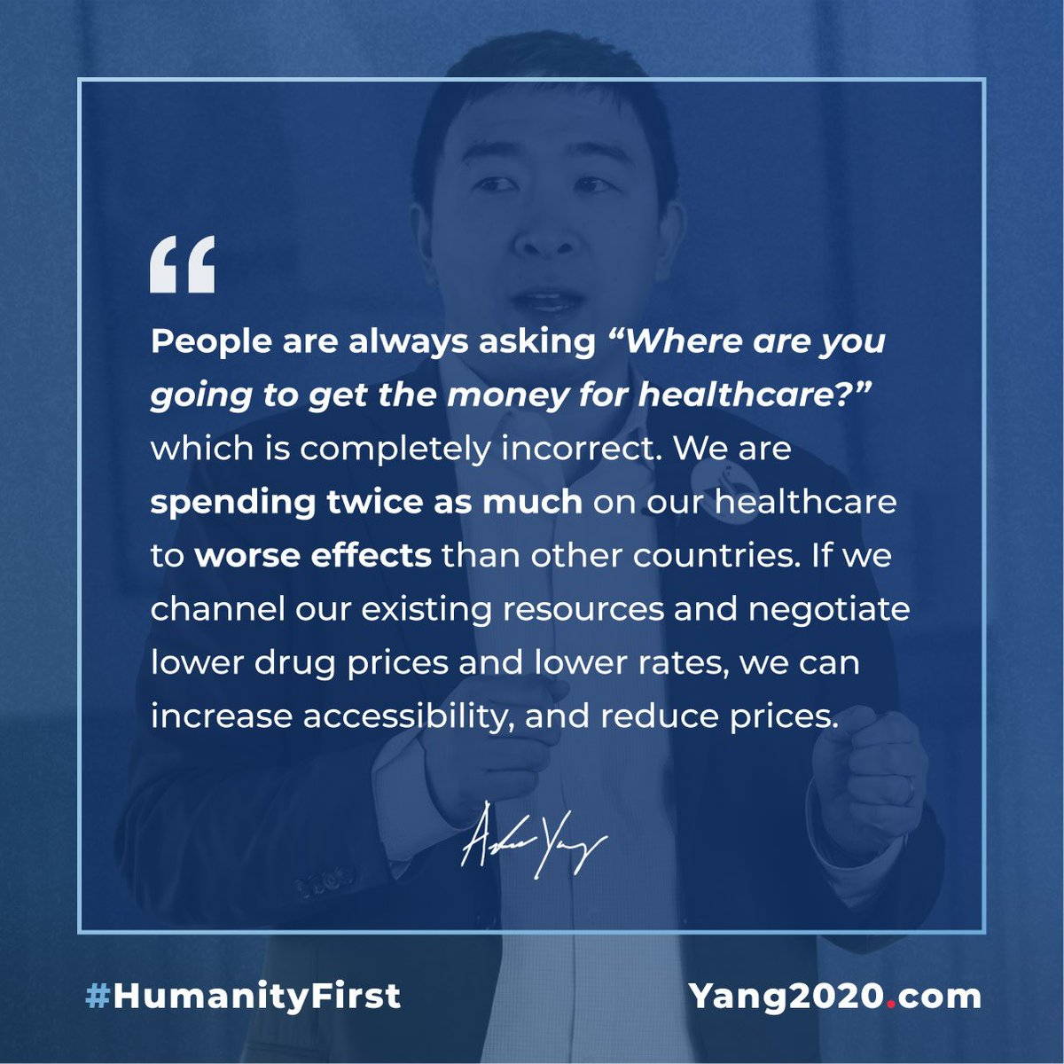 We spend twice as much on our healthcare as other countries to worse results.  Medicare for All will get a massive burden off of both families and businesses and largely pay for itself through lower rates and expenses.