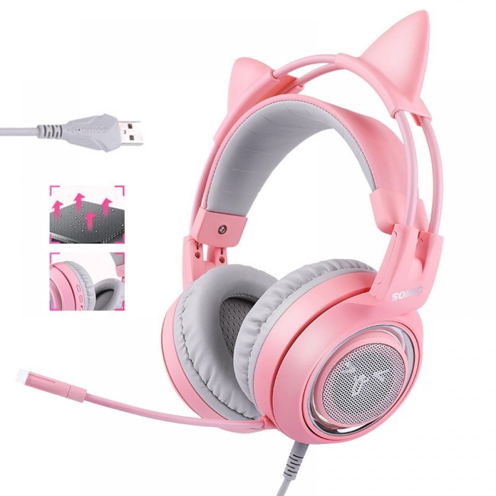 Kawaii Gaming Headphones
