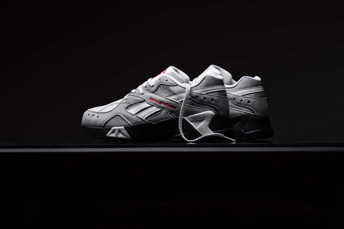 146f596789 Have A Good Time x Reebok Aztrek - Cool Shadow https://sneakerpolitics.com/products/have-a-good-time-x-reebok-aztrek-cool-shadow-cold-grey  …pic.twitter.com/ ...