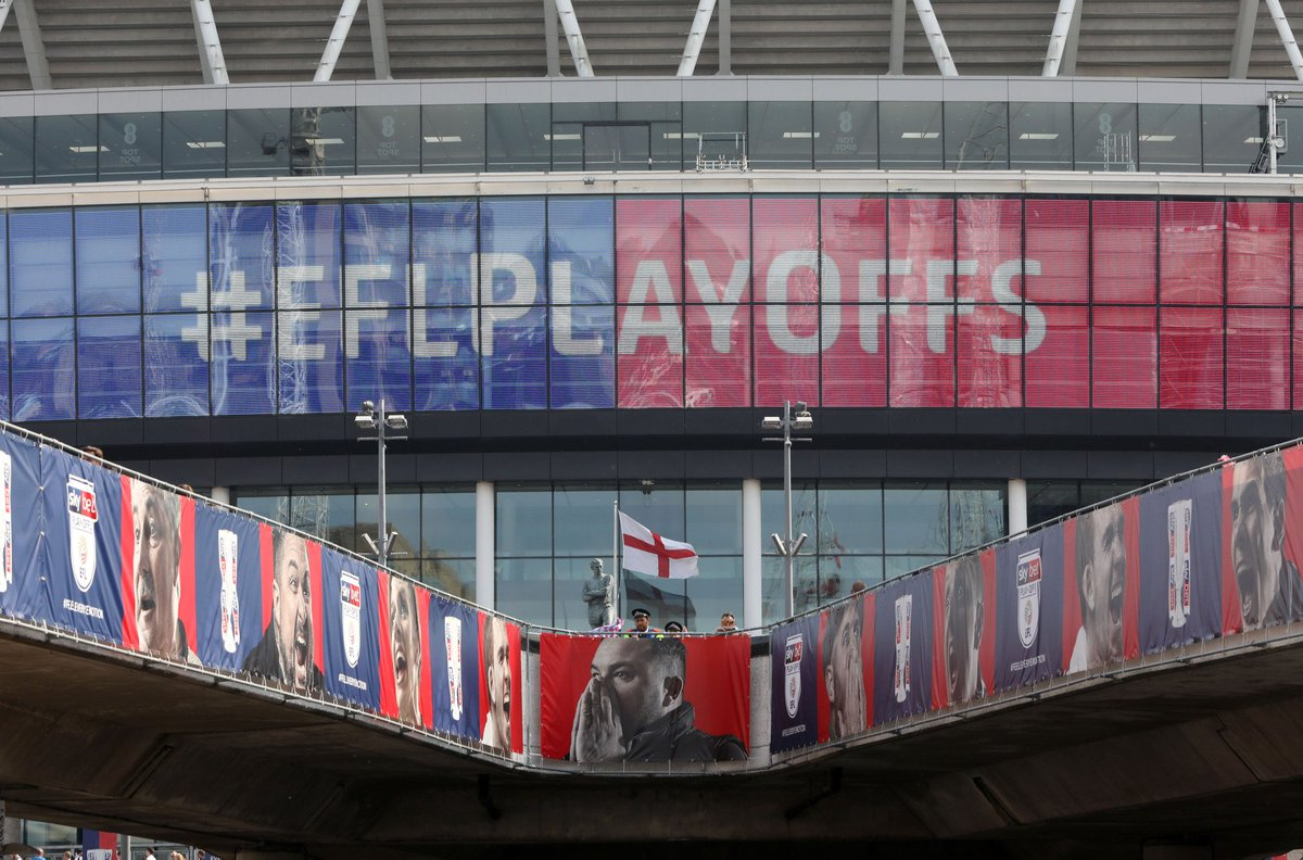 That is why we love the play-offs. WHAT A GAME 🔥 @SkyBetChamp play-off final confirmed ✓ @AVFCOfficial v @dcfcofficial 🗓 27th May ⏱ 3pm 📍 Wembley Stadium #EFLPlayOffs