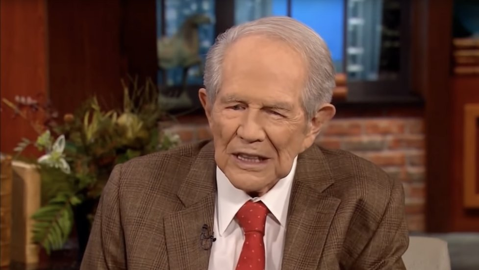 Evangelical leader Pat Robertson says God will get rid of America if it passes Equality Act http://hill.cm/XrsRwhD