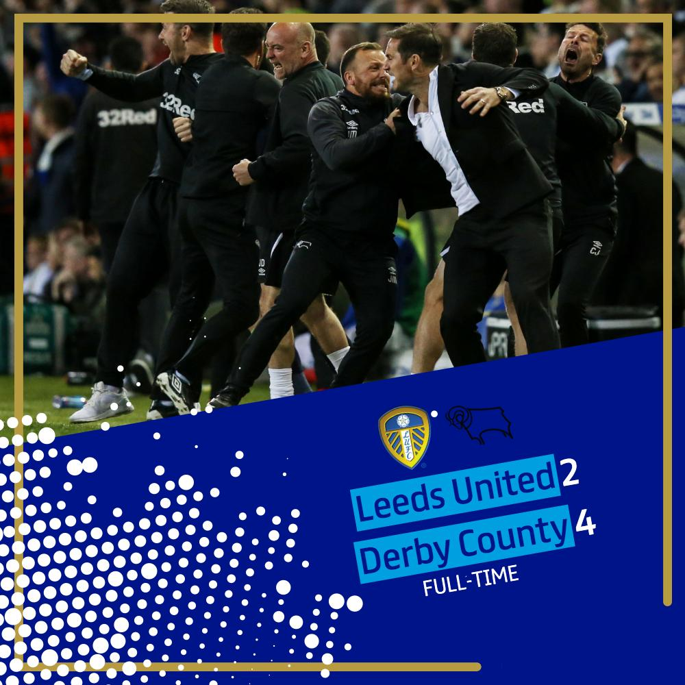 FULL-TIME! @dcfcofficial ARE OFF TO WEMBLEY WINNING 4-3 ON AGGREGATE! WHAT. A. MATCH!! #EFL | #EFLPlayOffs | #StepUp