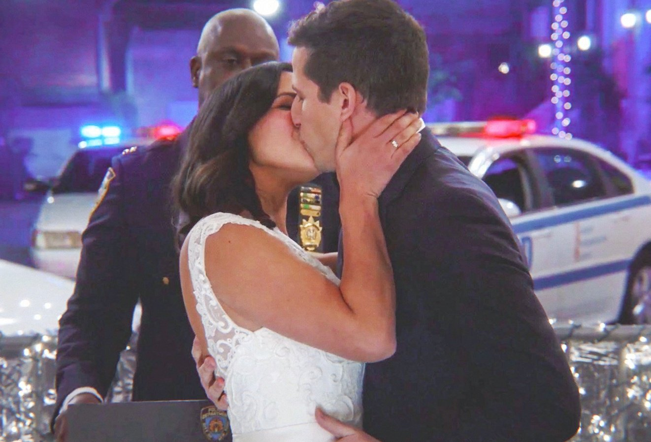 Nessa On Twitter Do You Amy Santiago Take Jake Peralta To Be Your Husband I Do And Do You Jake Peralta Take Amy Santiago To Be Your Wife I Absolutely Do Happy