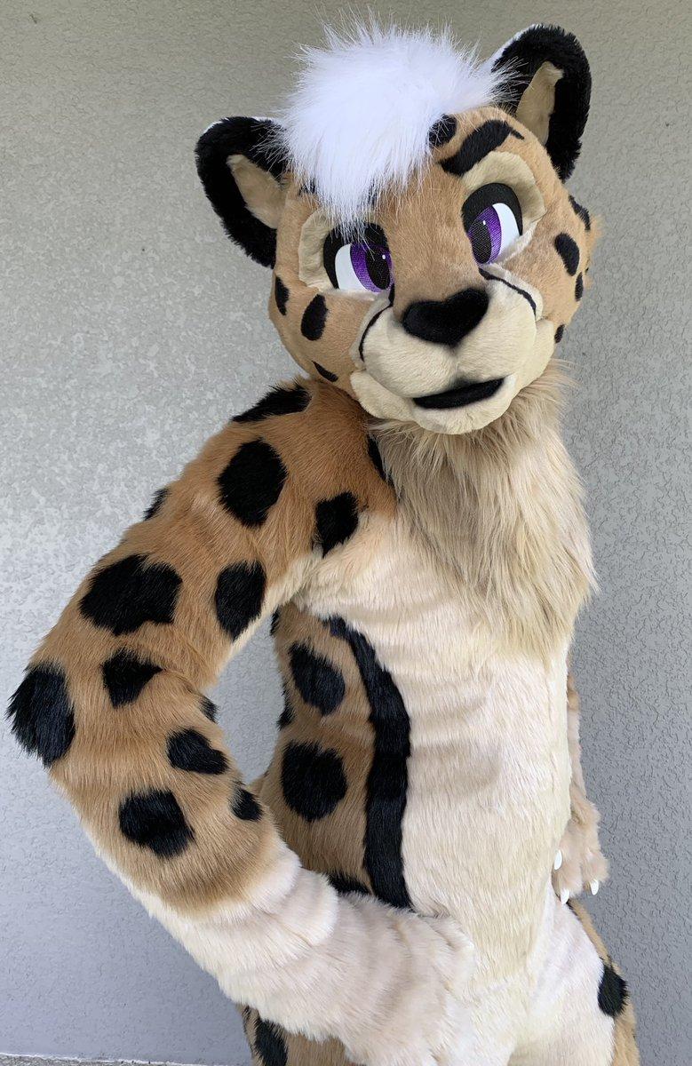 Cheetah Fursuit