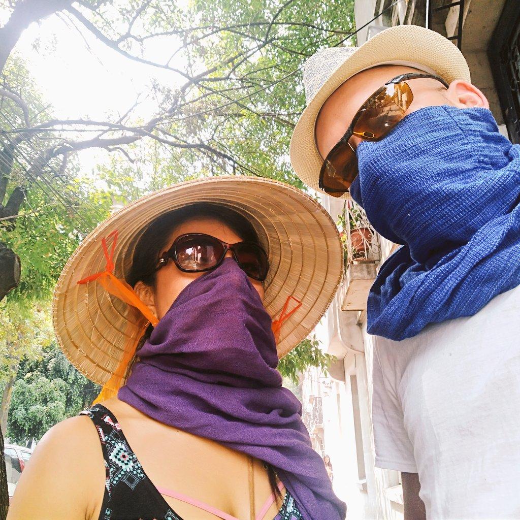 Fashion trends for Mexico City toxic air. #PM25 at #250ppm #ContingenciaAmbiental #contaminacioncdmx