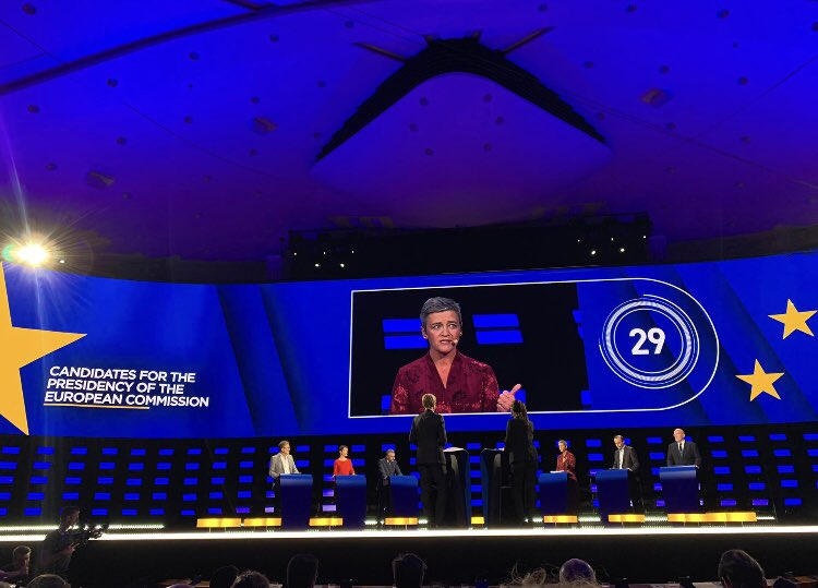 "Best quote of the evening in the EbU debate came from my #TeamEurope teammate @Vestager: ""For me a tax heaven is a place where companies pay their taxes."" #TellEurope #EP2019⁠ ⁠#EUElections2019<br>http://pic.twitter.com/WJuwfLrOEa"