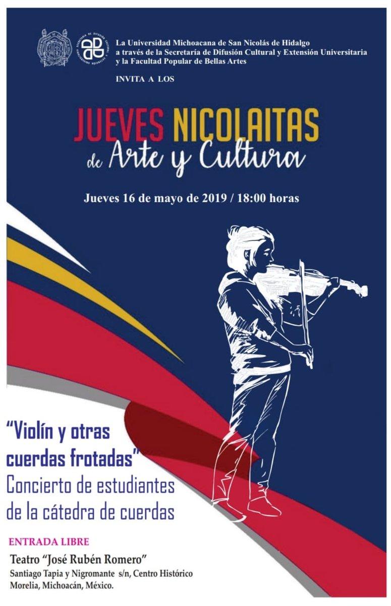 Difusión Cultural y Extensión Universitaria.'s photo on #JuevesMusicales