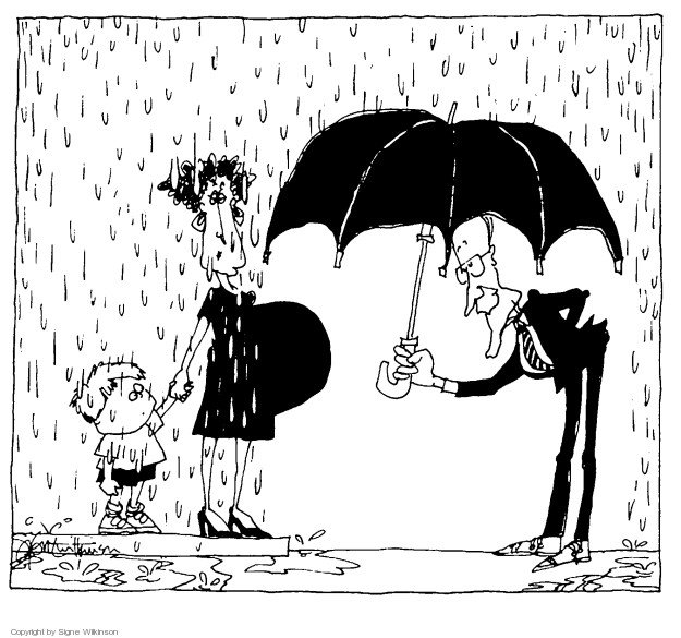 Classic cartoon about abortion by my pal @SigneWilk.