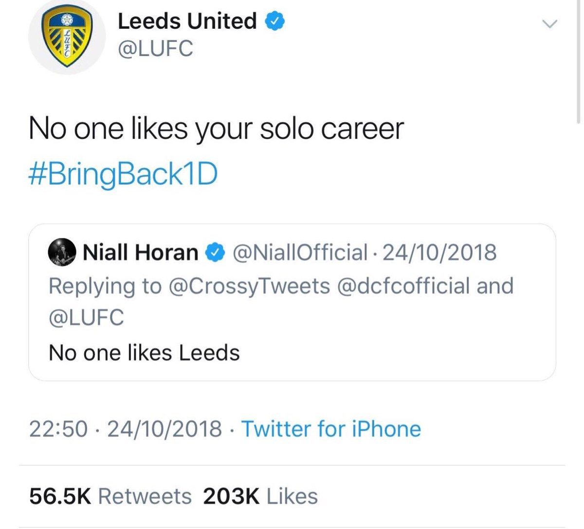 @LUFC . Between @dcfcofficial and I we've played at Wembley more times in the last 12 years than you lot . 👋