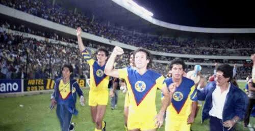 El Estadio Corregidora fue testigo del bicampeonato de Liga del @ClubAmerica en 1985, tras derrotar a los Pumas.